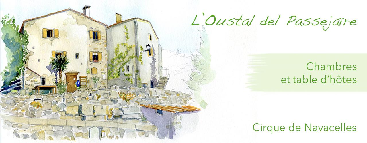 l'Oustal : la maison